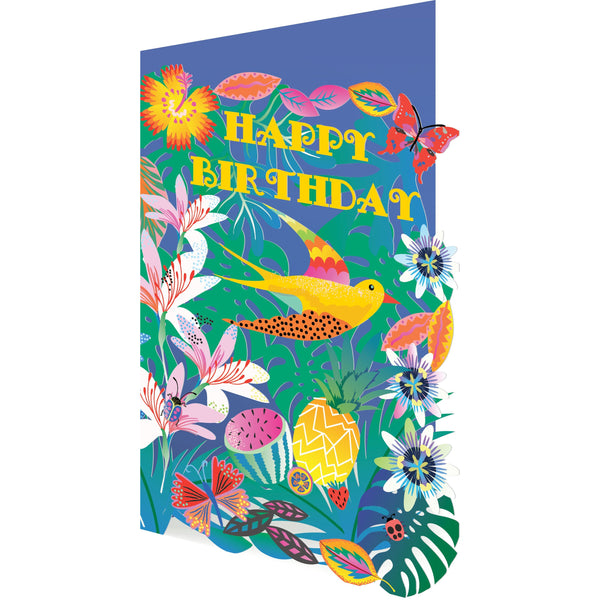 Tropical Lasercut Greeting Card - Roger La Borde