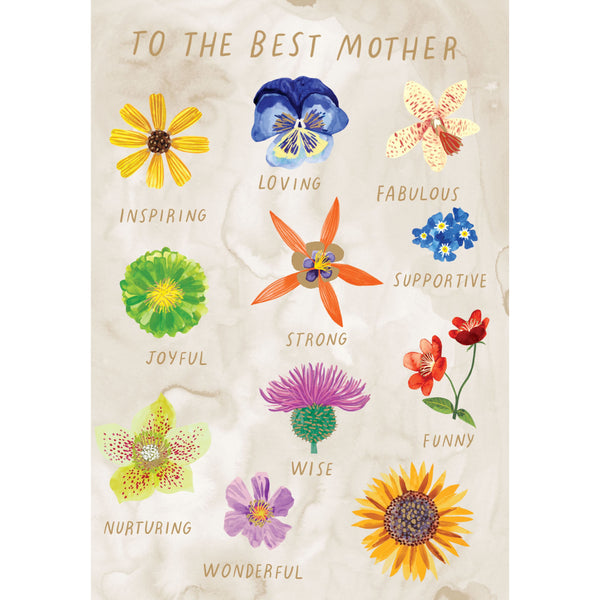 Best Mother Facetime Greeting Card - Roger La Borde by Katie Vernon