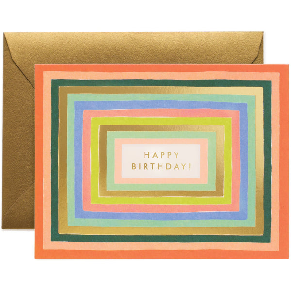 Disco Birthday Card - Rifle Paper
