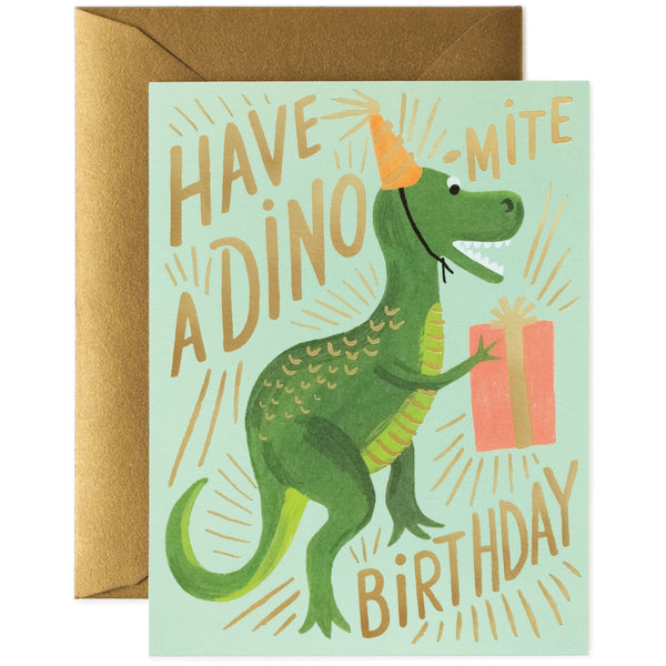 Dinomite Birthday Card - Rifle Paper