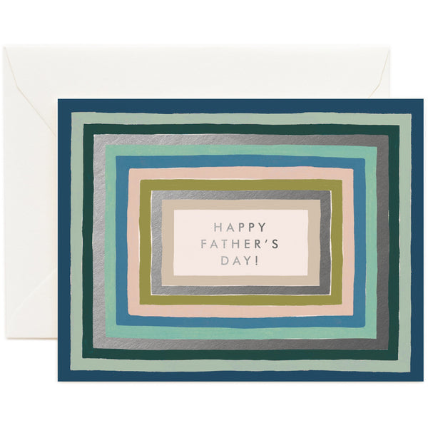 Striped Father's Day Greeting Card - Rifle Paper