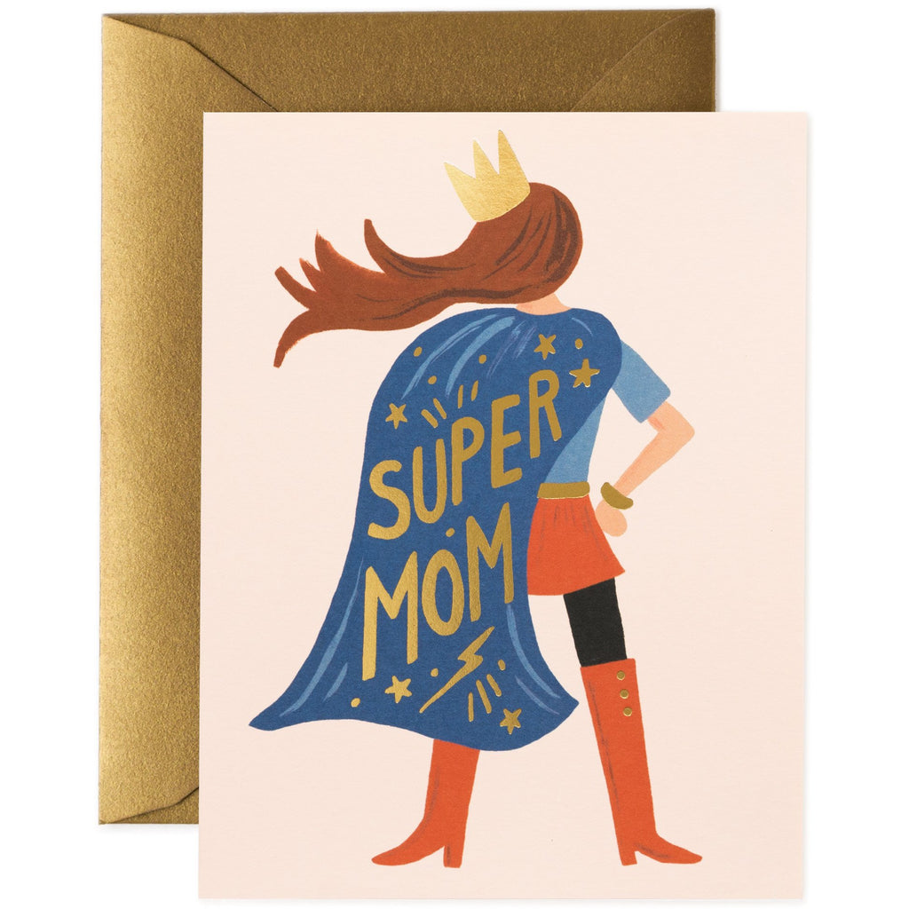 SuperMum Greeting Card - Rifle Paper