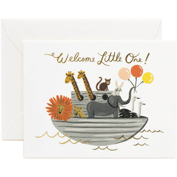 Noah's Ark Greeting Card - Rifle Paper
