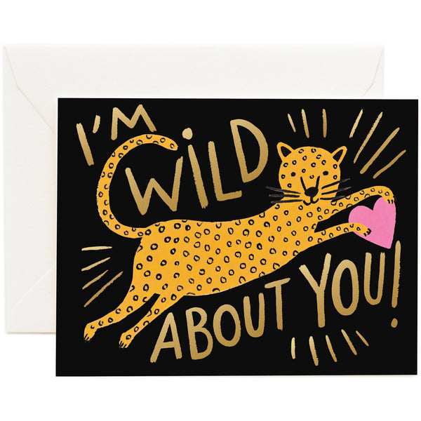 Wild About You Greeting Card - Rifle Paper