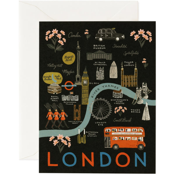 London Greeting Card - Rifle Paper