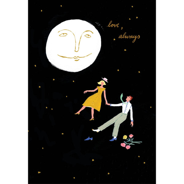 Love, Always Greeting Card - by Emily Isabella