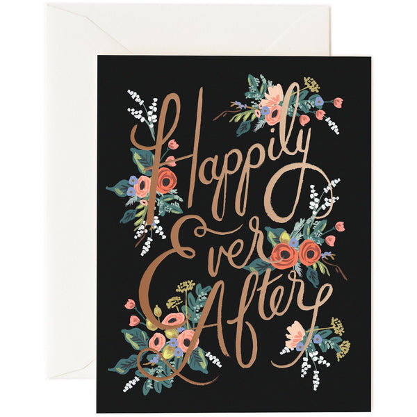 Eternal Happy Ever After Greeting Card - Rifle Paper