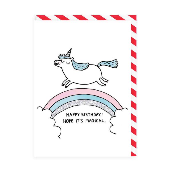 Magical Birthday Greeting Card - Ohh Deer