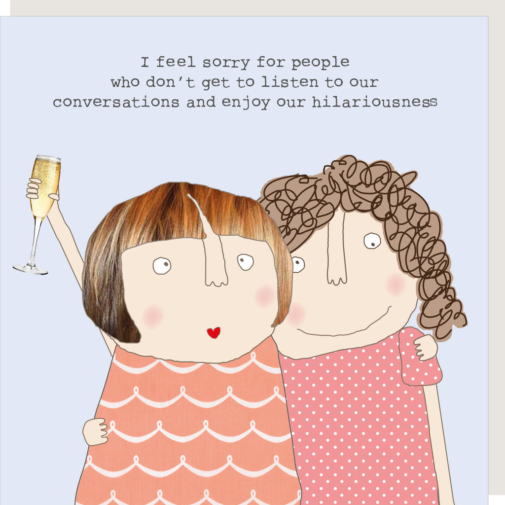 Hillariousness Greeting Card - Rosie Made A Thing