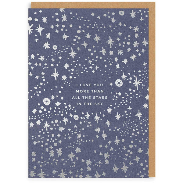 Stars In The Sky Greeting Card - Ohh Deer