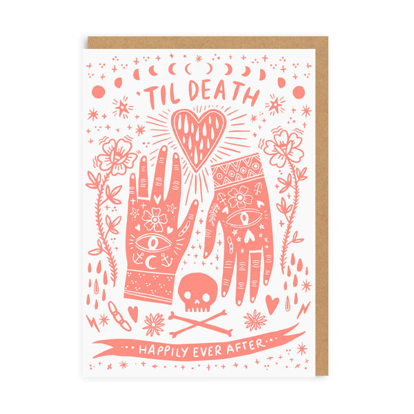 Death Happily Ever After Greeting Card - Ohh Deer