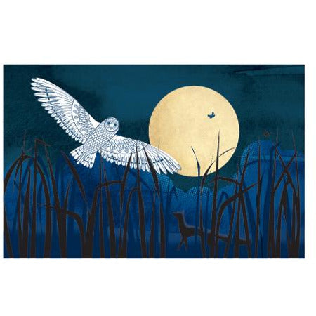 Harvest Moon Screenprint Card - Art Angels by Sally Elford