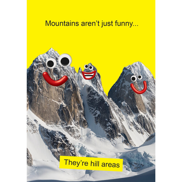 Mountains Greeting Card - Kiss Me Kwik
