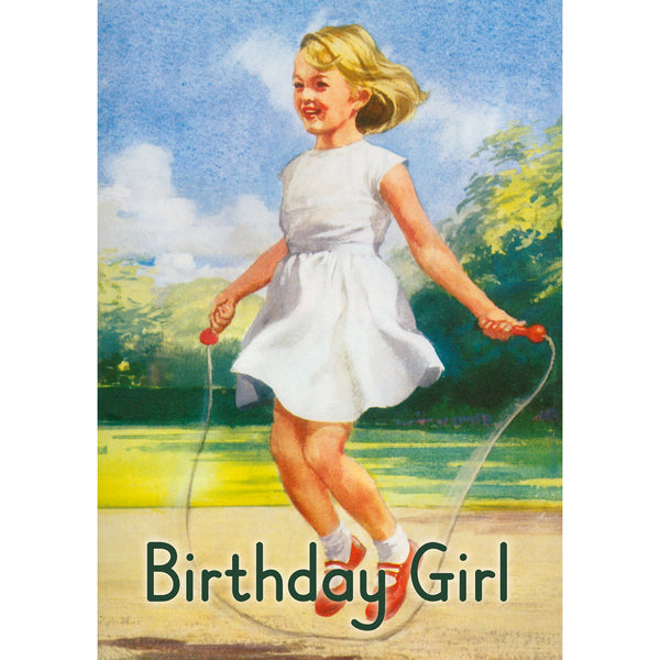Ladybird Birthday Girl Greeting Card - Kiss Me Kwik