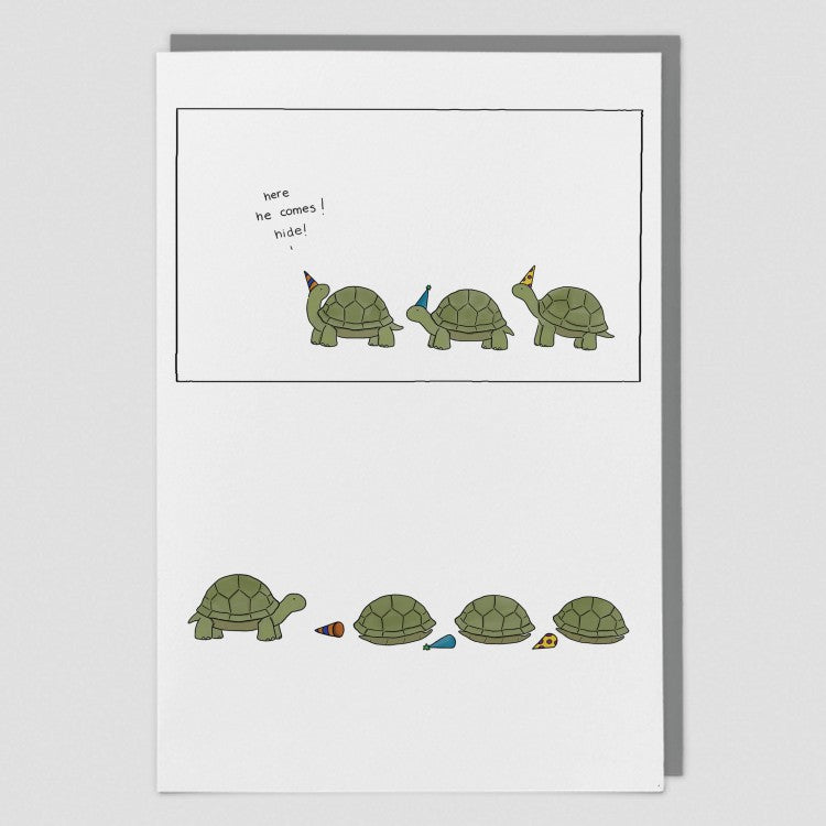 Hide Greeting Card - Redback Cards