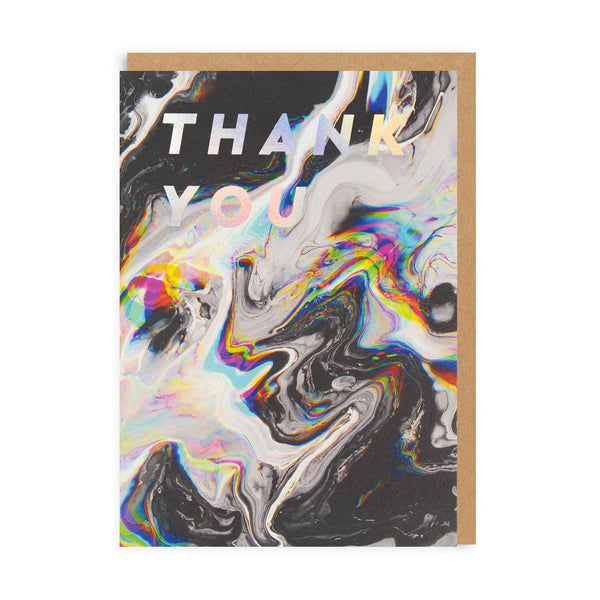 Thank You Oil Greeting Card - Ohh Deer