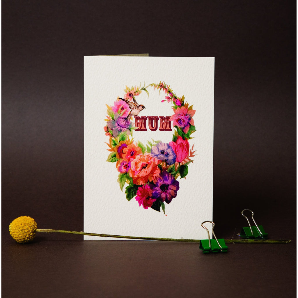 Mum Greeting Card - Max Made Me Do