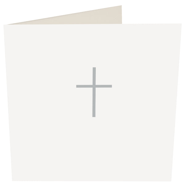 Plain Cross Greeting Card - Caroline Gardner
