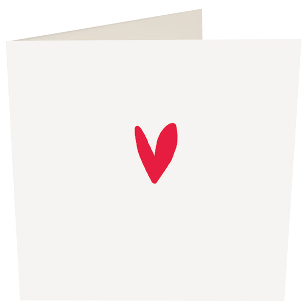 Red Heart Greeting Card -Caroline Gardner