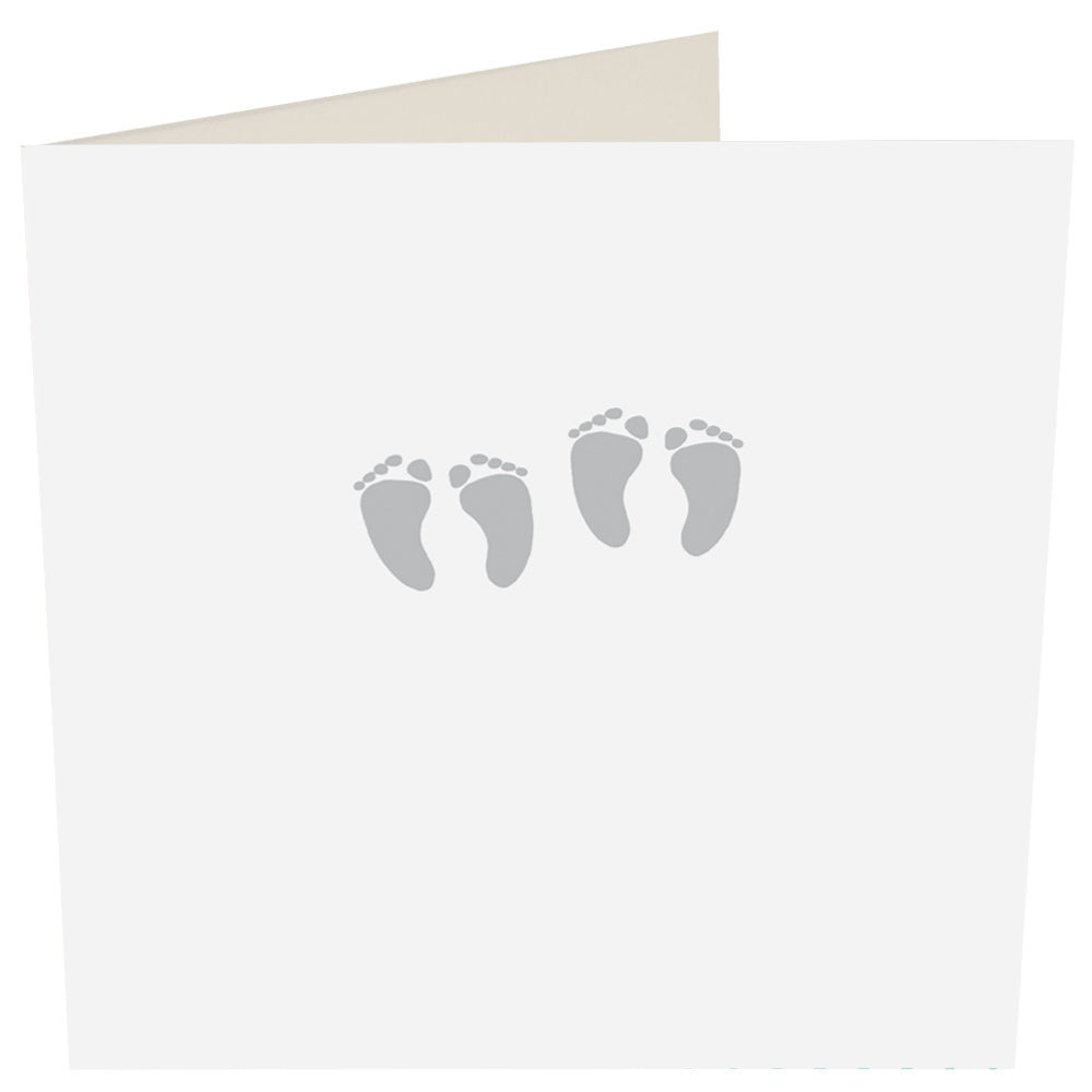 Baby Twins Greeting Card -Caroline Gardner