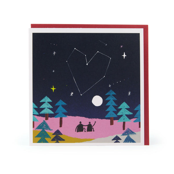 Stars Couple Anniversary Greeting Card - U Studio