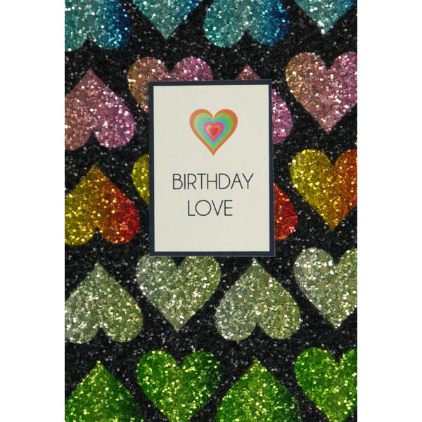 Birthday Love Greeting Card - Counting Stars by Fabrications
