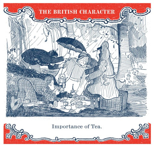 Importance of Tea Greeting Card - Archivist Press