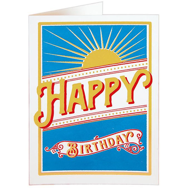 Rays Birthday Card - Archivist Press