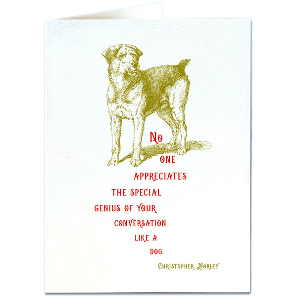Special Genius Greeting Card - Archivist Press