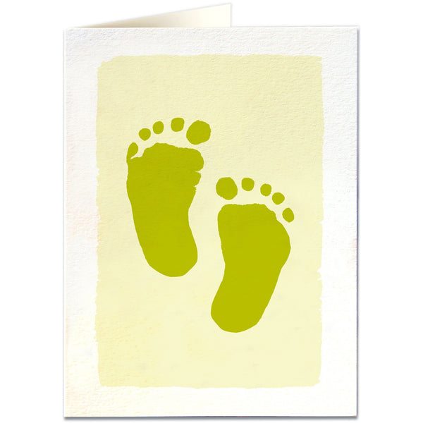Baby Feet Greeting Card - Archivist Press