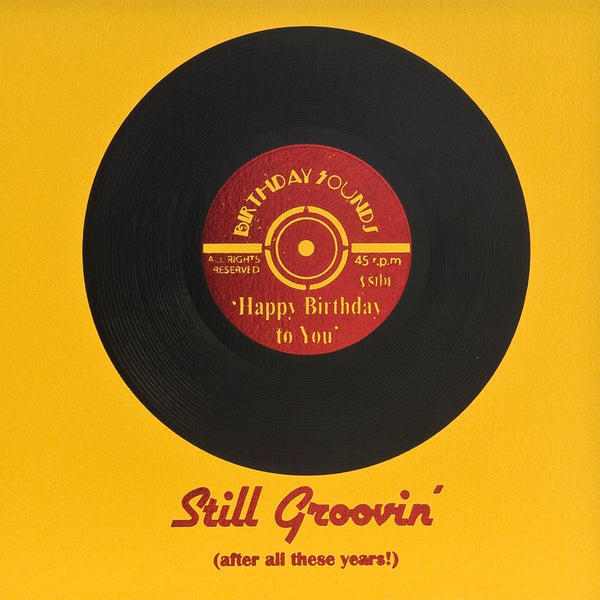 Still Groovin' Greeting Card - Five Dollar Shake