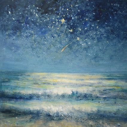 Shooting Star Greeting Card - Artpress by Bill Jacklin RA