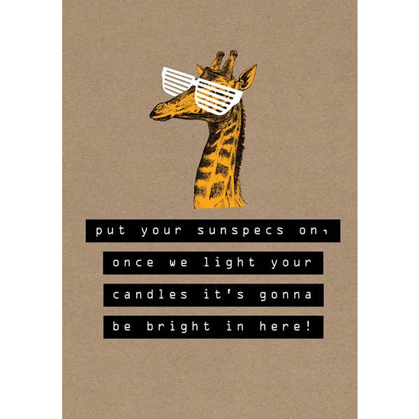 Light Your Candles Greeting Card - The Art File