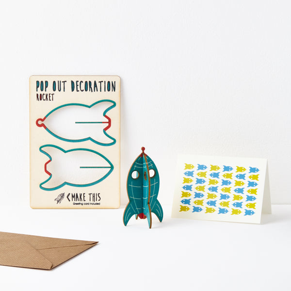 Rocket - The Pop Out Card Co.