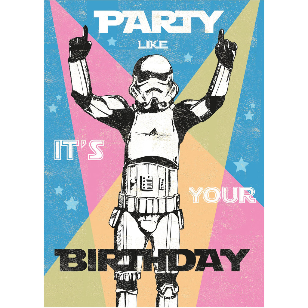 Party Greeting Card - Rocket 68 Stormtrooper