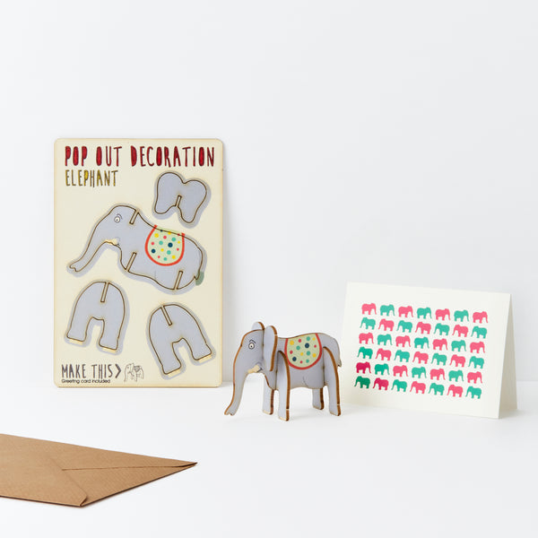 Elephant - The Pop Out Card Co.