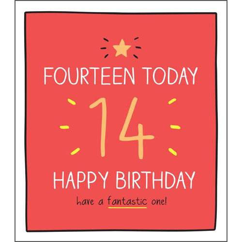 14 Have a Fantastic One! Birthday Card -Pigment Productions