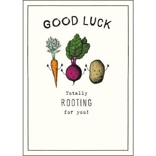 Totally Rooting For You Greeting Card - Pigment Productions