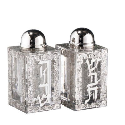 Schonfield Crystal & Silver Salt & Pepper Shakers (5060170645639)