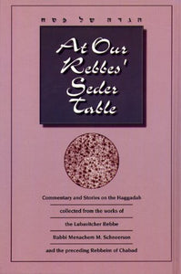 At Our Rebbe's Seder Table (Paperback) (5256433303687)