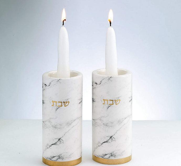 Marble Ceramic Candle Set (5111541563527)