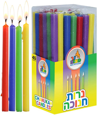 Chanukah Candles - Long 5