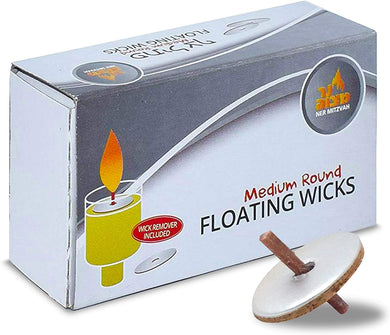 Medium Round Floating Wicks (5216370983047)