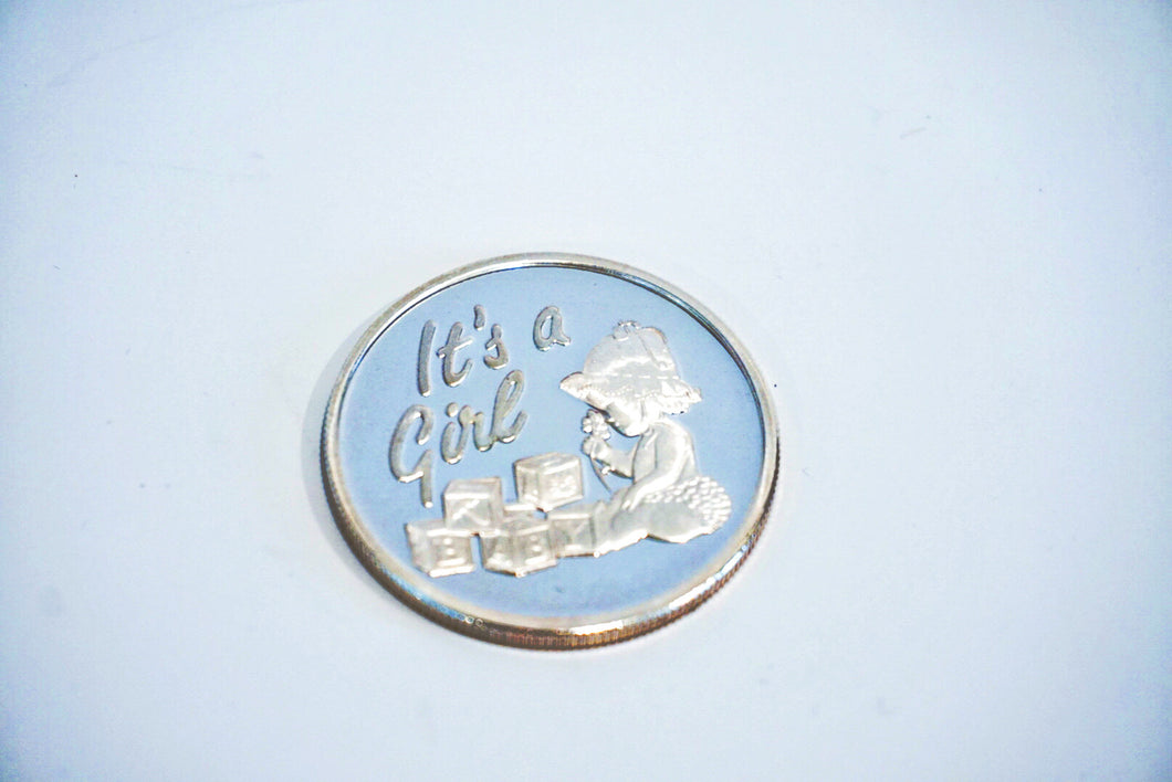 It's a Girl (Silver Coin .999)