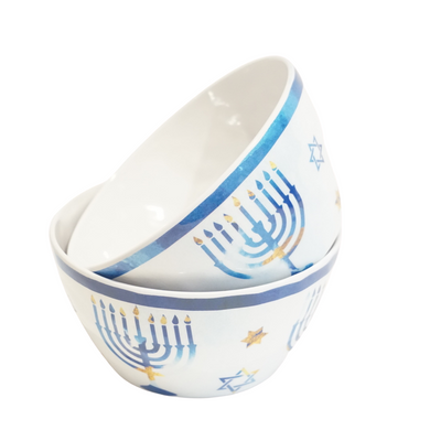 Chanukah Bowl Set of 2 (5225756328071)