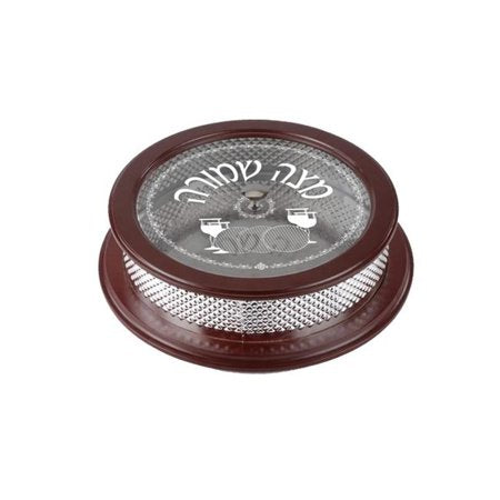 Silver plated Matzah box (6543777431687)