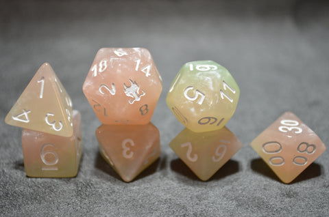 Leviathan Pastel Rose Exclusive Dice Set