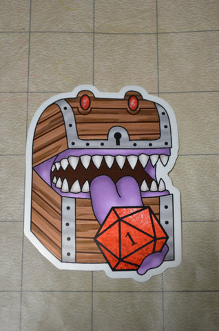 Mimic D20 Sticker