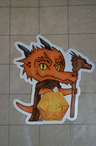Kobold D20 Sticker
