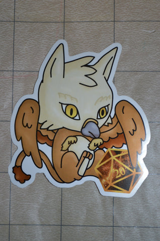 Griffin D20 Sticker